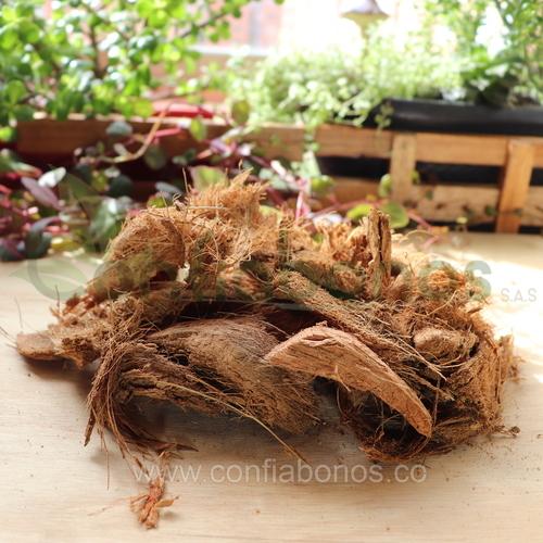 Fertilizantes en bogota Colombia - abonos organicos bogota Colombia - corteza-de-coco-largo - Viveros en bogota Colombia - jardineria – confiabonos