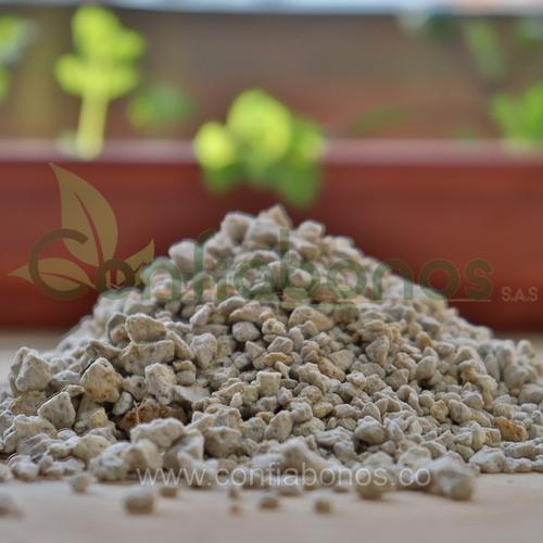 Fertilizantes en bogota Colombia - abonos organicos bogota Colombia - perlita roca mineral volcanica - Viveros en bogota Colombia - jardineria – confiabonos