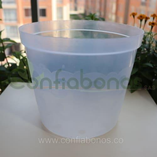 Materas en bogota Colombia - macetas en bogota Colombia - macetas decorativas - matera plastica transparente - Viveros en bogota Colombia - jardineria - confiabonos